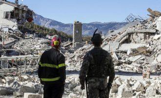 Problem mbetet strehimi i personave të prekur nga tërmeti në Itali