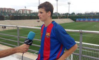 Futbollisti drenicas i Barcelonës që do të luajë për Kosovën