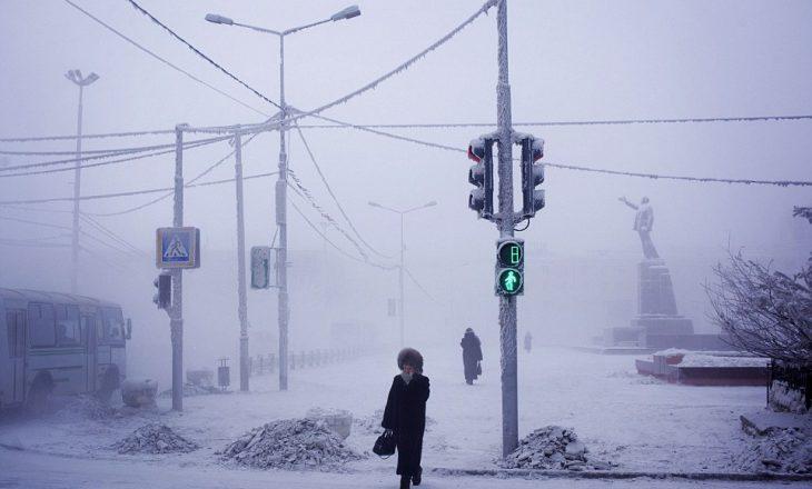Vendi i banuar më i ftohtë në botë