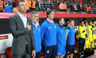Ndaj Kosovës, Shevchenko fitoi ndeshjen e parë në karrierë