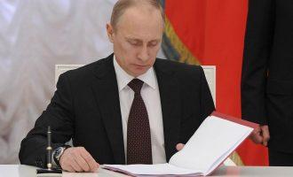 Nënshkrimi i Putinit që përkeqëson edhe më shumë marrëdhëniet me SHBA-të