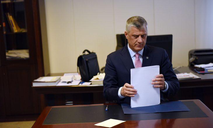 Kundërshtarët e pajtimit nuk e ndalin presidentin të mbajë takimin e dytë për komisionin