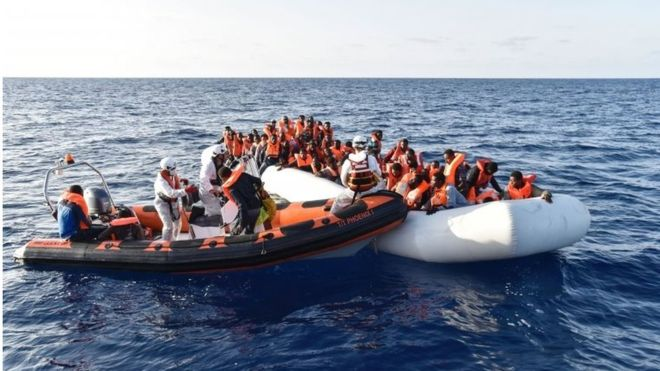 Mesdhe, frikë për mbi 200 emigrantë të mbytur nga Libia