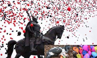 Çka shkon lartë bie poshtë – balonat që vrasin lirinë e gjallesave