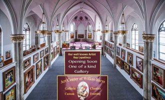 Artisti kosovar që refuzoi Vatikanin por ktheu një kishë amerikane në galeri arti