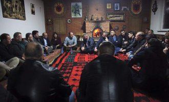 Naim Bazaj i bënë konak PDK-së në fushatë për Ramiz Lladrovcin