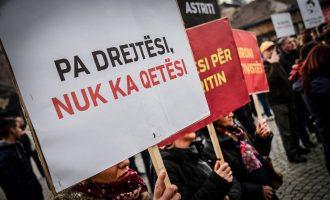 """25 mijë nënshkrime për """"Drejtësi për Astritin"""""""