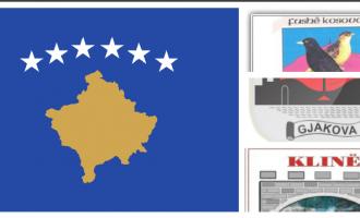 Ish-deputeti i PDK-sëkrahason flamurin e Kosovës me stemat e komunave
