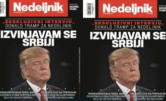 """Pse Trump tërhoqi intervistën sipas kryeredatorit të """"Nedeljnik"""""""