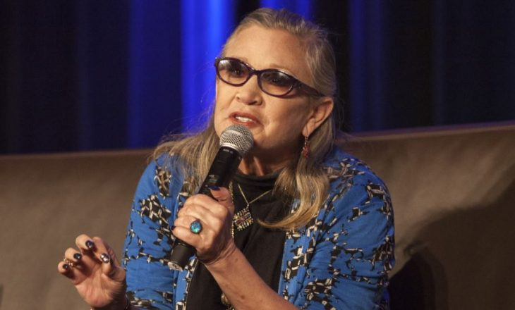 """Vdes aktorja Carrie Fisher, e njohur për rolin te """"Lufta e Yjeve"""""""