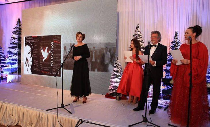 Dijana Toska, nderohet për organizimin e koncertit gjatë shënjtëritmit të Nënës Terezë