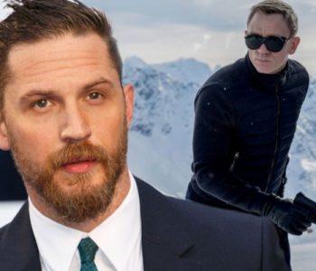 Tom Hardy në rolin e James Bond