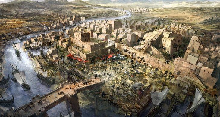 Mesopotamia – vendi i lashtë, atje ku filloi historia