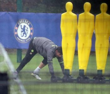 Diego Costa stërvitet pa skuadrën e Chelseat