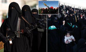 Gratë e Jemenit u tregojnë forcën armiqve