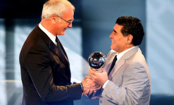 Ranieri shpallet trajneri më i mirë i vitit