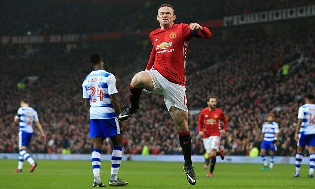 "Wayne Rooney bëhet ""legjendë"" te Manchester United"