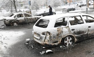 Protestë e dhunshme në Stokholm