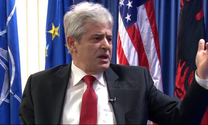 Ali Ahmeti: Maqedonasit në vitin 2001 më ofruan ta ndajë Maqedoninë