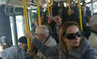 Brenda autobusëve të rinj – pa muzikë talllava por të mbipopulluar