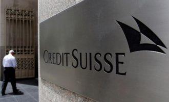 """Banka zvicerane """"Credit Suisse"""" do të shkurtojë 6.500 vende pune në vitin 2017"""