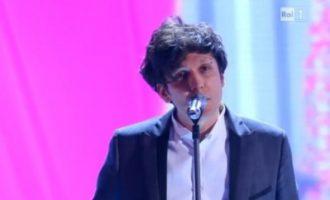 Ermal Meta, i treti në Sanremo të Italisë