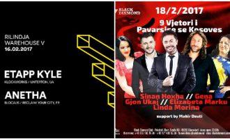 17 shkurti – me muzikë elektronike në Kosovë dhe tallava në diasporë