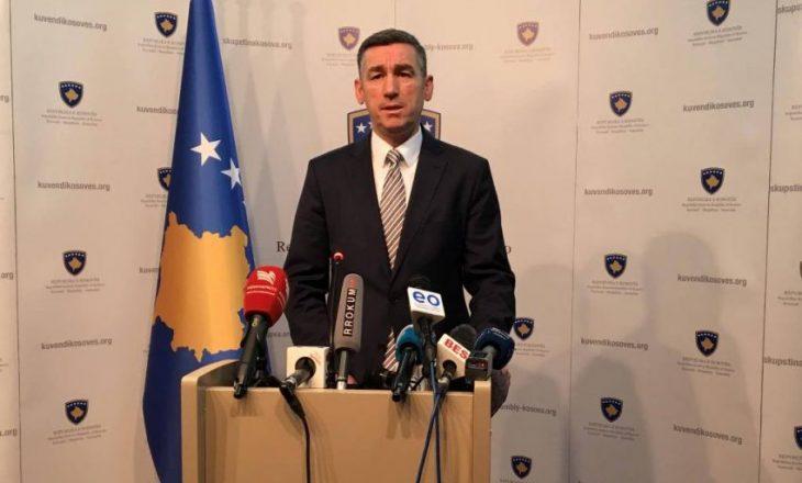 Veseli: Projektligji për FSK-në nesër procedohet në kryesi të kuvendit