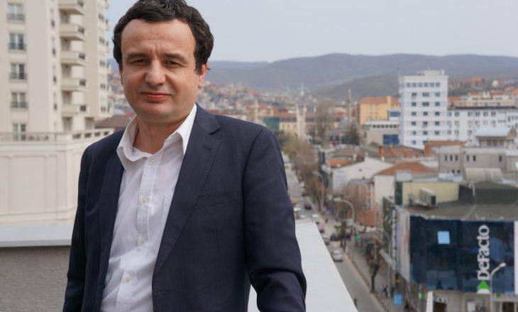 Kurti kërkon debat kundër Haradinajt dhe Hotit