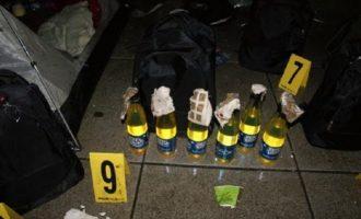 Policia u gjen 33 shishe me koktej molotovi tifozëve të Prishtinës