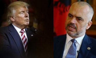 """Thirrja e Ramës për ndihmë nga presidenti të cilin e quante """"kërcënim për Amerikën"""""""