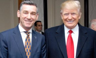 """""""Trump Shqiptar"""" shkruajnë mediat Serbe për foton e Veselit"""