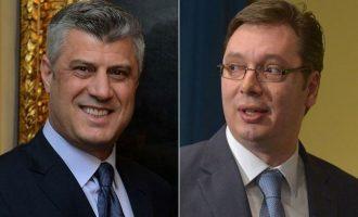 Vuçiq hapave të Thaçit – shpallë kandidaturën për president