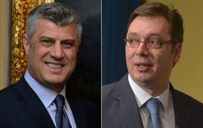 Mediat serbe: Thaçi dhe Vuçiq biseduan për vizitën e Mogherinit