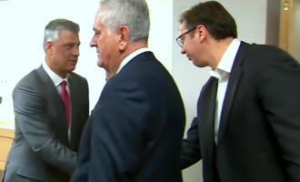 Telefonata pa efekt e Thaçit me Vuçiqin