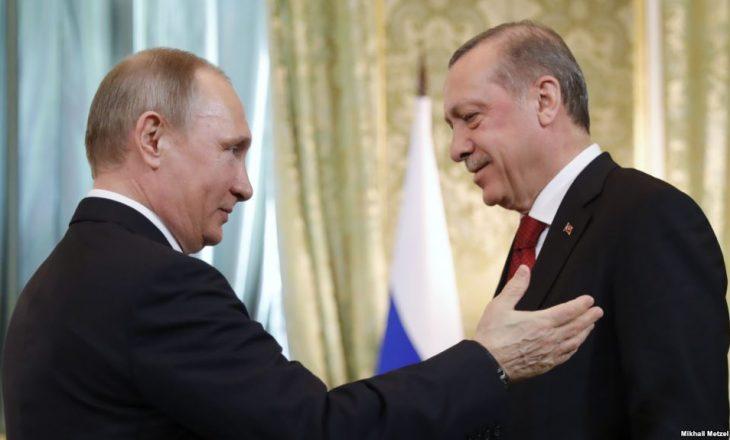Putin: Marrëdhëniet me Turqinë janë përmirësuar
