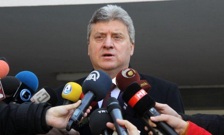 Ivanov nuk i jep mandatin Zaevit, shkas platforma shqiptare