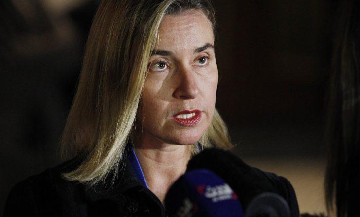 """Pesë """"urdhërat"""" e Mogherinit nga udhëtimi në Ballkanin e tensionuar"""