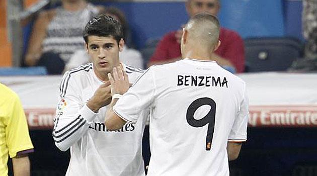 Morata është më efektiv se Benzema