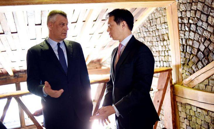 Thaçi: Me Brian Yee u dakorduam për veprime konkrete për ushtrinë
