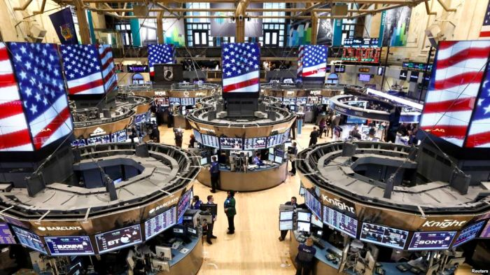 Tregjet e aksioneve rriten pas fjalimit të Trumpit