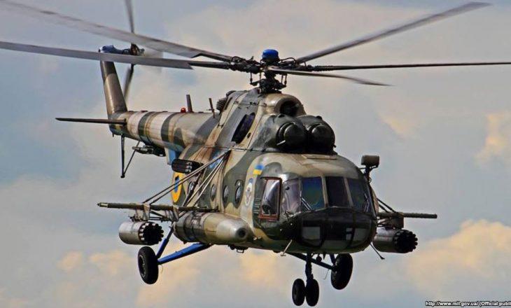 Pesë të vdekur nga rrëzimi i helikopterit në Ukrainë