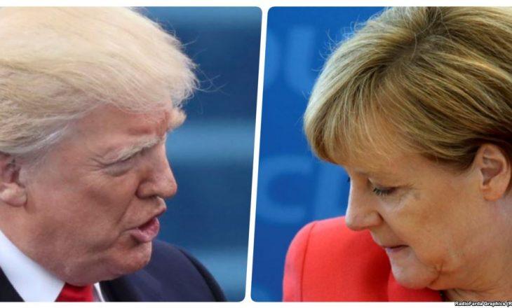 Merkel: Kureshtje dhe kënaqësi për takimin me Trumpin