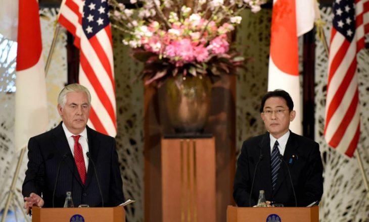 Tillerson i kërkon Koresë V. të braktisë programin bërthamor