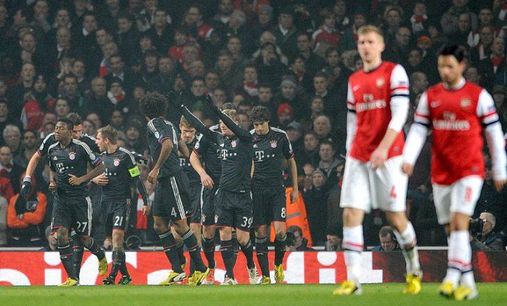 Arsenali përsëri përball Bayern Munich