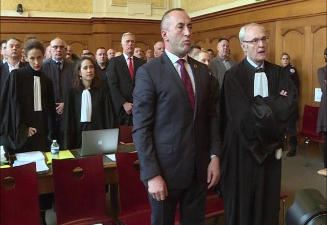 Serbia i kthen përgjigje Gjykatës franceze për Haradinajn