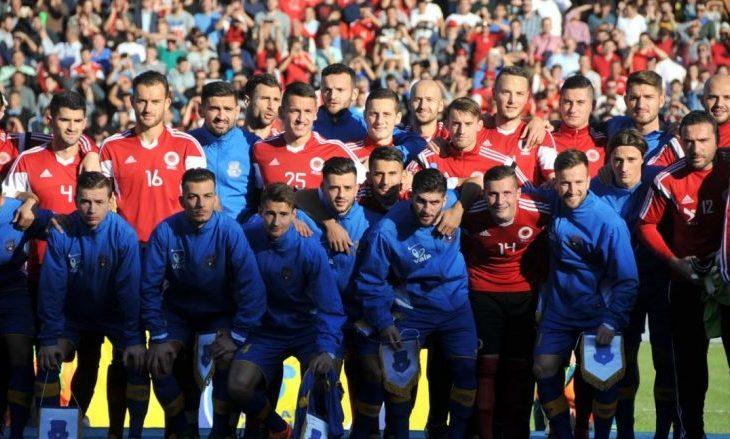 Kombëtaret shqiptare sonte zbresin në fushë