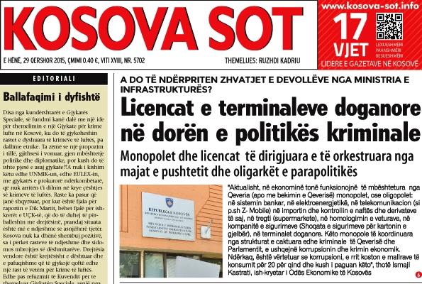 KMShK: Kosova Sot nuk raportoi të vërtetën në 15 shkrime për Devolli Group