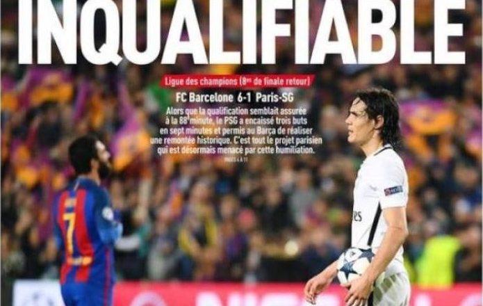 Humbja e PSG-së në gazetat franceze nga të magjishëm në tragjedi