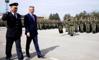 Rreziku prej komandant Thaçit